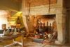 Les cuisines du château de la Bussière