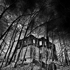 abandoned on the mountain top
