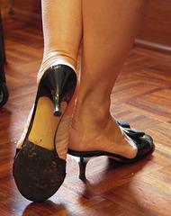 Ferragamo heels (F)