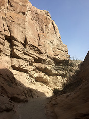 Calcite Mine Slot Canyon Hike (0687)