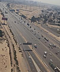 Highway in Dubai