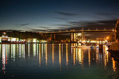 Nightfall Over Kiel Canal (03.11.2018)