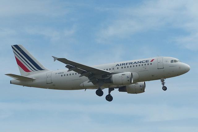 F-GRHO approaching Heathrow - 7 July 2017