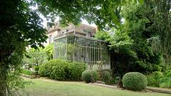 Les jardins du Manoir de Grand-Courtoiseau...