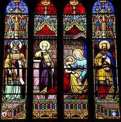 Quelques vitraux de la cathédrale Saint-Corentin de Quimper