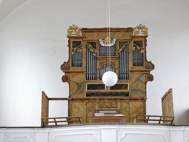 Die Orgel in St. Leonhard