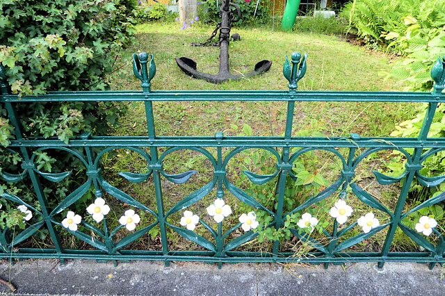 Blumen-Anker in HH-Övelgönne
