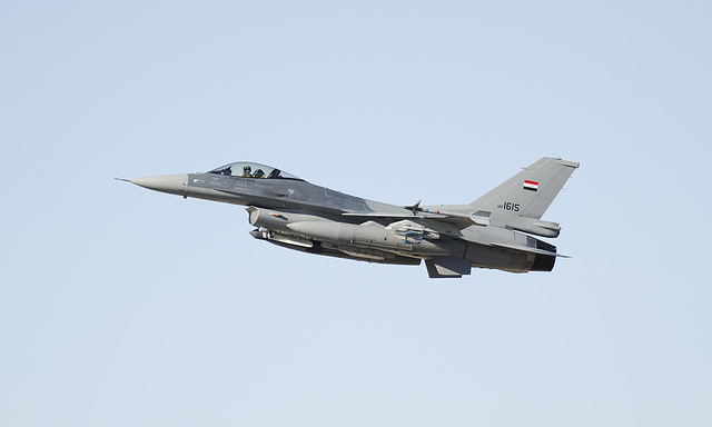 Iraqi Air Force Lockheed Martin F-16C Fighting Falcon 1615 (12-0012)