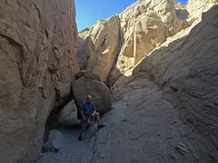 Calcite Mine Slot Canyon Hike (0692)