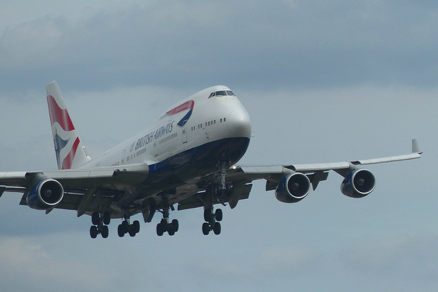 G-CIVV approaching Heathrow (1) - 7 July 2017