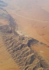 Sandy wastes of Oman