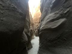 Calcite Mine Slot Canyon Hike (0693)