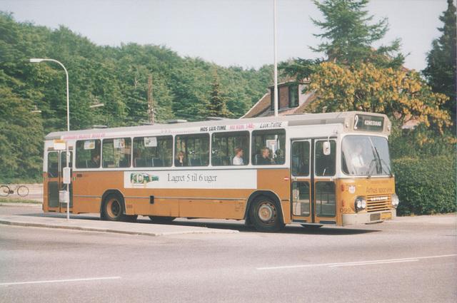 Århus (Aarhus) Sporveje 099 (HB 88 745) at Marienlund - 26 May 1988 (Ref: 67-14)