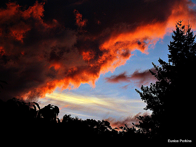 Sunset Drama.