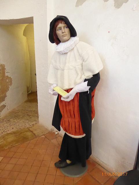 habit de médecin du 16° siècle