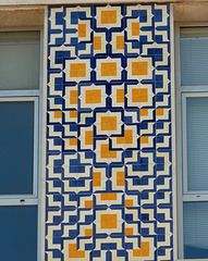 Portuguese tiles with a modern twist