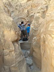 Calcite Mine Slot Canyon Hike (0696)