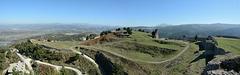 Albania, Vlorë, Serpentine Road to Climb the Castle of Kaninë