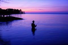 Lake Nipissing, Blue Hour - 2007 (PiP)