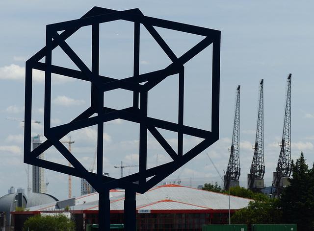 An Image of Modern Docklands - 18 July 2015
