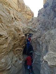 Calcite Mine Slot Canyon Hike (0697)