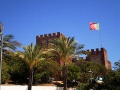Silves Castle.
