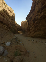 Calcite Mine Slot Canyon Hike (0698)