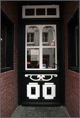 Ostfriesische Eingangstür