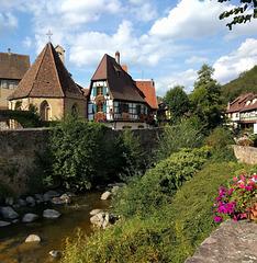 Carte postale d'Alsace  / Postcard from Alsace