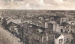 Zamenhof-strato en Bjalistoko sur la bildkarto el 1915