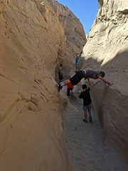 Calcite Mine Slot Canyon Hike (0702)