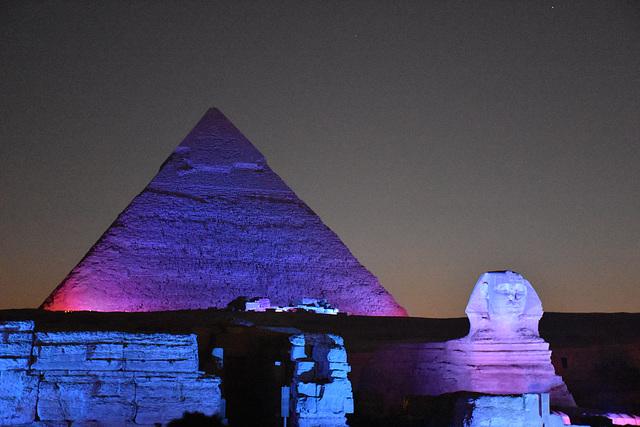 Jean-Michel Jarre : Son et lumière à Gizeh, Egypte