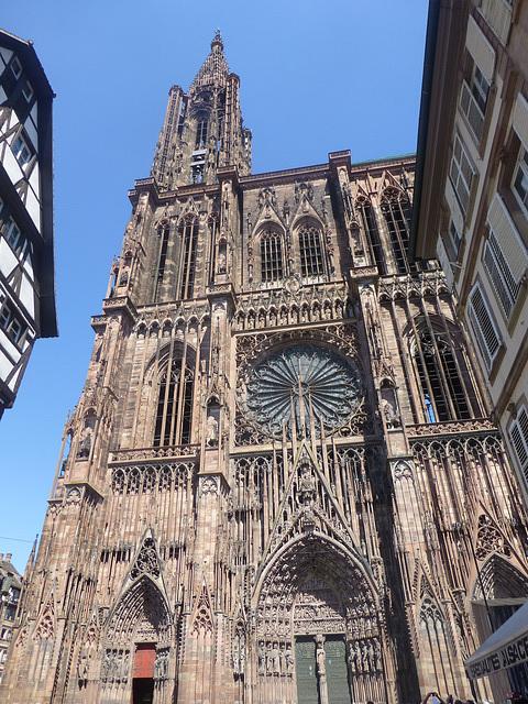 Strasburgo, Katedralo.