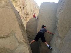 Calcite Mine Slot Canyon Hike (0703)