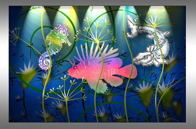 Photoshop Creative aquarium