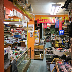Fishing and hunting equipment shop
