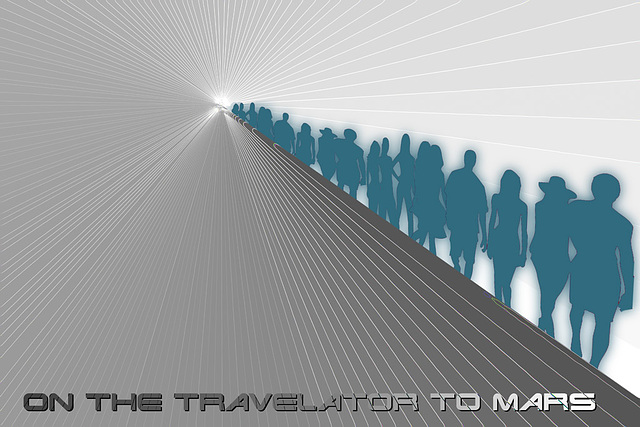 the travelator to Mars