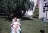 A Lady Lounging on the Lawn in 1965