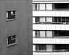 apartment block view