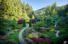 Victoria's Butchart Gardens, Part 1: The Sunken Garden and MUCH MORE! (+10 insets)