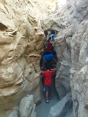 Calcite Mine Slot Canyon Hike (0708)