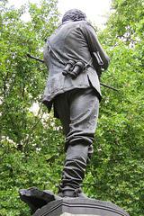 general gordon statue , victoria embankment, london (1)