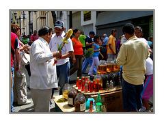Venta en las calles de Caracas