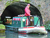 Dudley Canal Trust Excursion Boat Emerging from a Tunnel