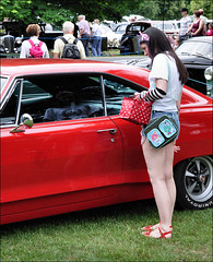 People At Car Shows ...
