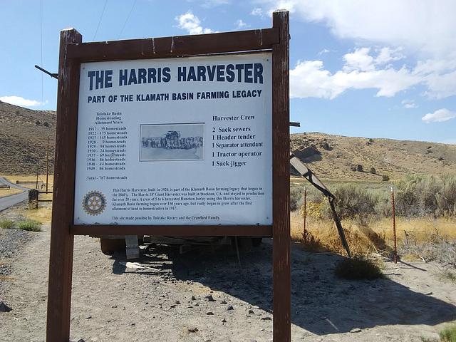 Harris Harvester