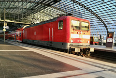 Train to Prague 2019 – DB Engine 112155 at Berlin HBF