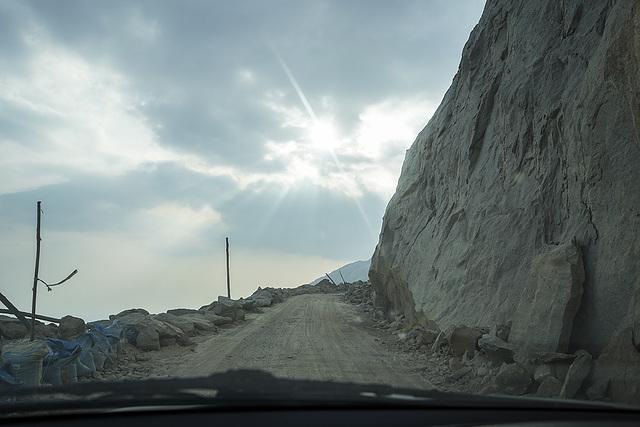 Route vers Munnar..