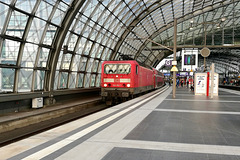 Train to Prague 2019 – DB Engine 143193 at Berlin HBF