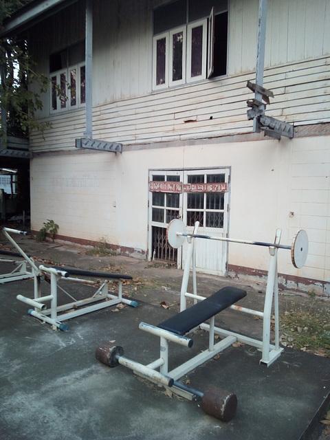 Outdoor gymnasium / Gymnase extérieur